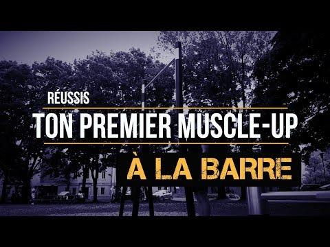 Réussis le muscle-up à la barre