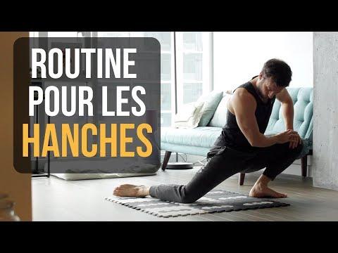 Routine de mobilité pour les hanches