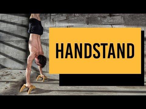 2 exercices pour travailler ton équilibre lors du handstand