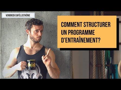 Structurer un programme d'entraînement