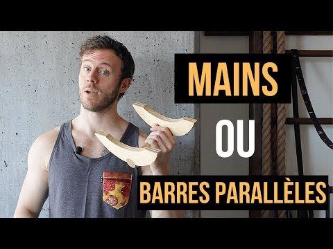 Handstand : Mains ou barres parallèles?