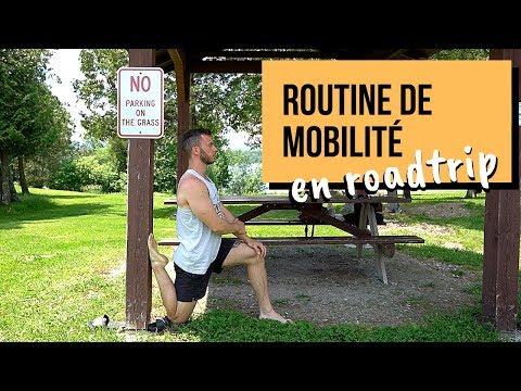 Routine de mobilité pour ton roadtrip