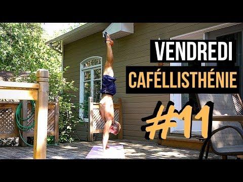 Peur d'être à l'envers en handstand? — Vendredi Caféllisthénie #11