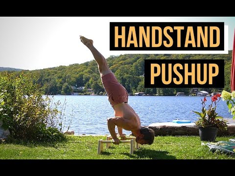 Réussir le handstand pushup