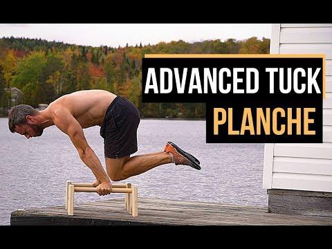 Passer de la tuck planche à la advanced tuck planche – Callisthénie
